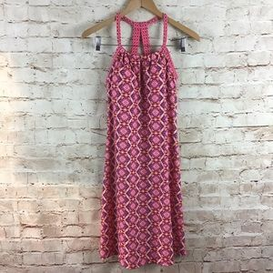 PrAna Quinn Pink Athletic Dress w/ Shelf Bra Small